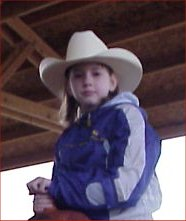 Codi Frazier at the Rodeo Arena